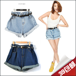 Aliexpress.com : Buy With Belt! 2013 shorts fashion vintage high ...