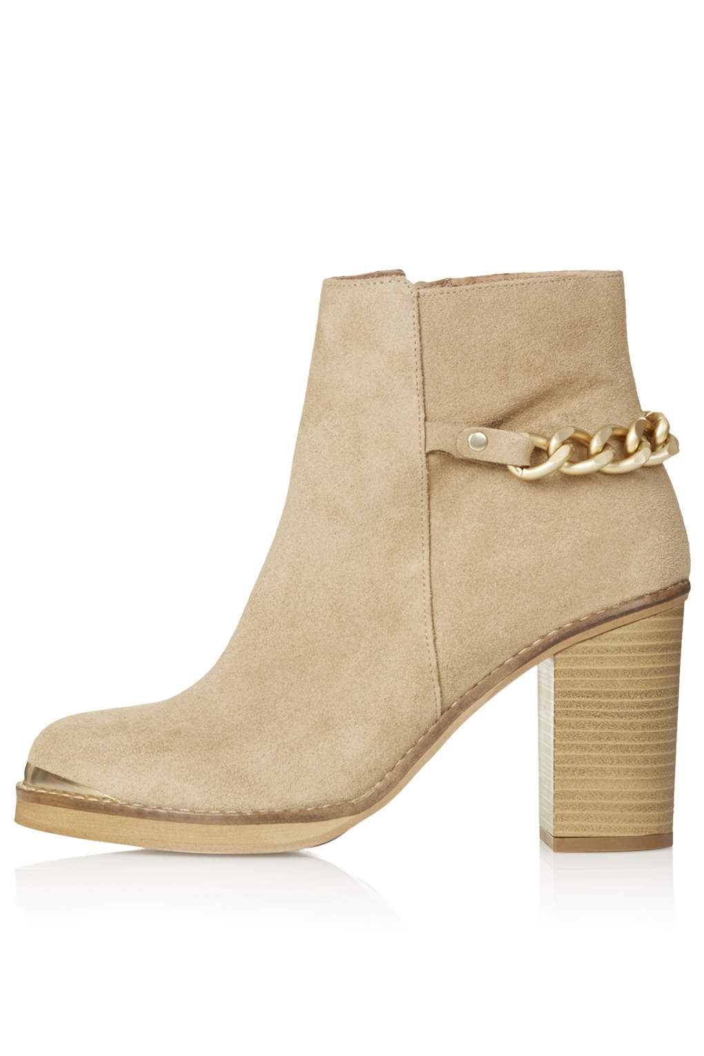 MERIT Heeled Leather Ankle Boots - Boots - Shoes