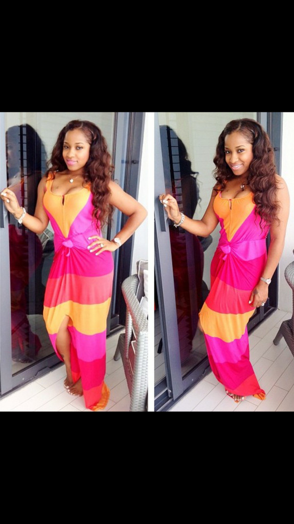 dress summer summer dress maxi dress neon neon dress summer outfits