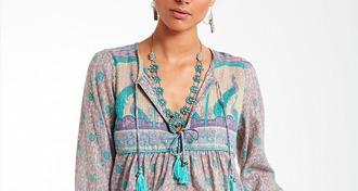 jewels boho gold necklace jewelry boho jewelry turquoise accessories silver bohemian boho shirt