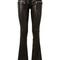 Unravel pants :: unravel black soft leather pants | montaigne market