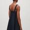 A-line shoulder-strap dress - dark navy - dresses - cos pl