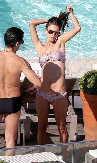 swimwear bikini summer beach alessandra ambrosio