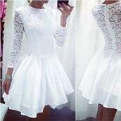dress,cute dress,white dress