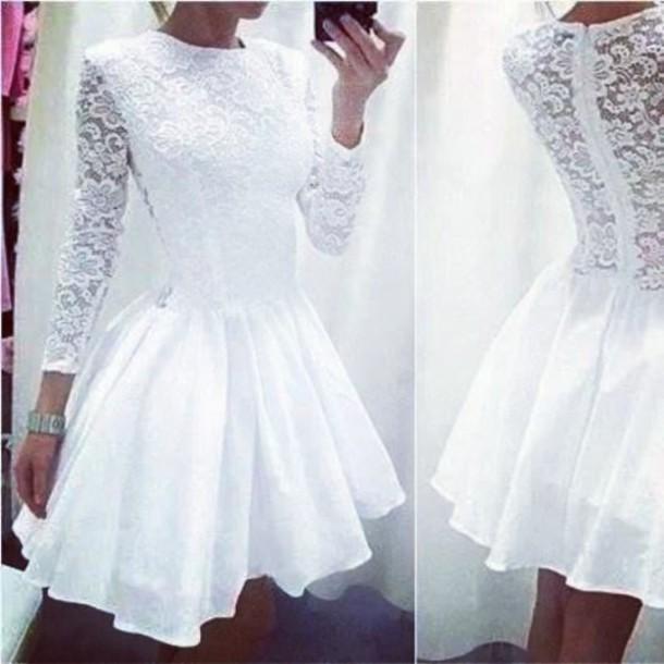 dress cute dress white dress