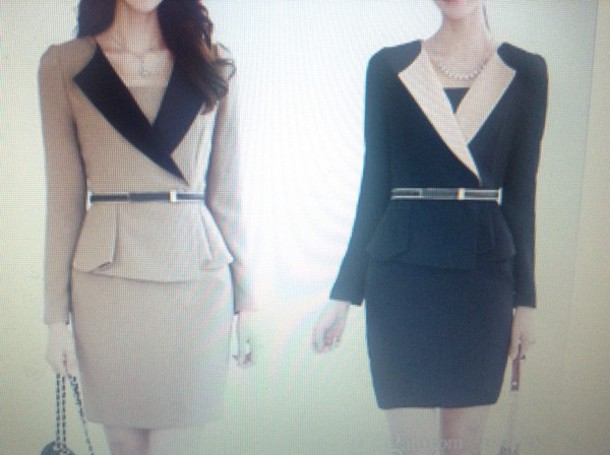 Dress Formal Dress Office Outfits Business Casual Dress Business