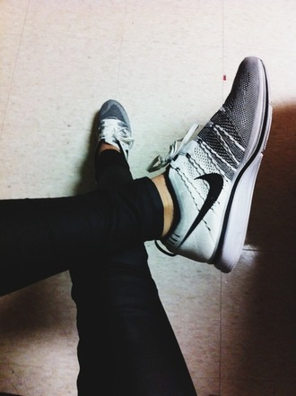 shoes black grey white nike nike shoes for women trainers bag blouse hat jewels jeans sweater pants
