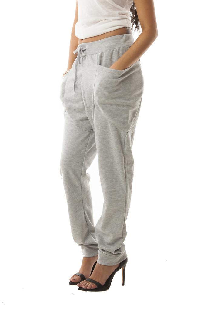 Big pocket sweats in grey – wunderlust
