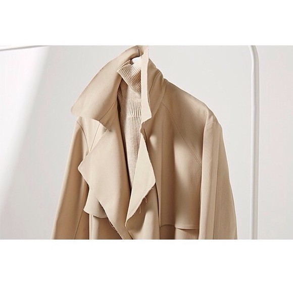 trench coat jacket beige winter outfits fall outfits transitional clothes nude neutral cream trench jacket timeless