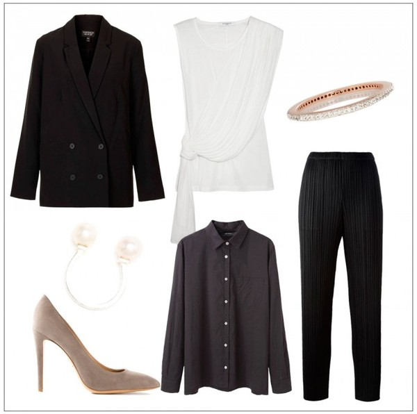 style by kling jewels shoes blouse shirt jacket pants