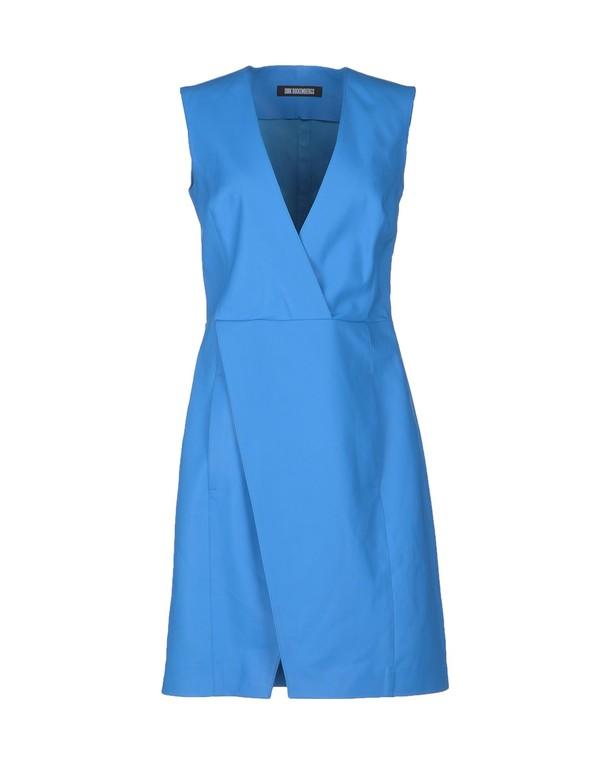 dress short dress dirk bikkembergs azure