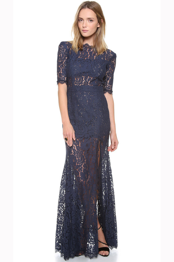 Double high tassel lace eyelash fork and dress