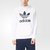 adidas Trefoil Hoodie - White   adidas UK