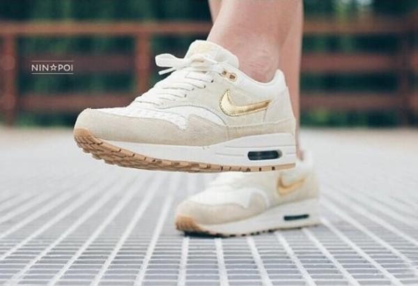 shoes air max basket gold