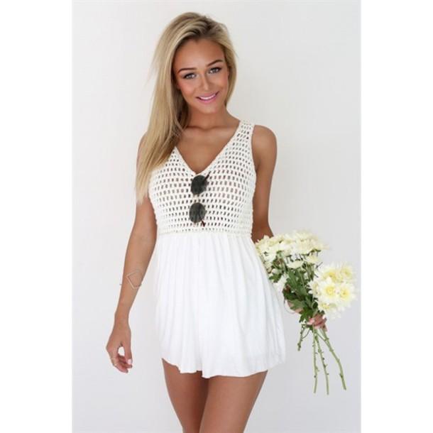 dress white v neck dress white v neck prom dress white v neck skater dress  white 0294c5310