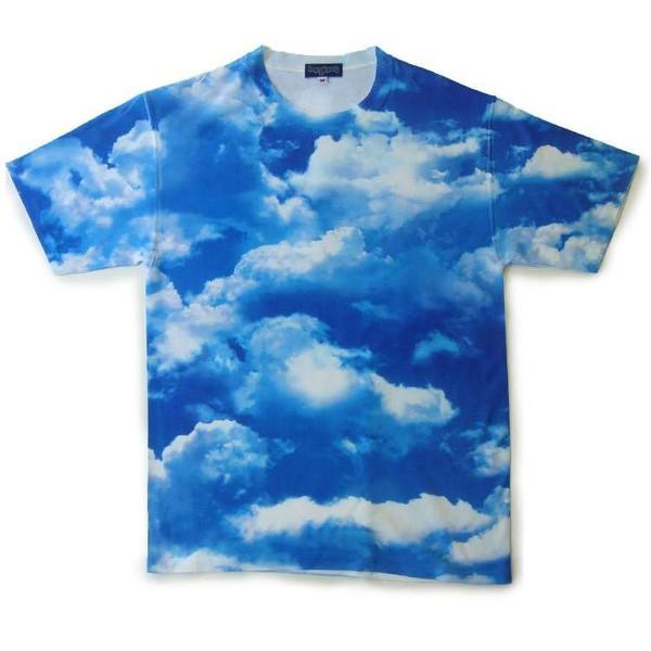 shirt clouds blue sky clouds t-shirt