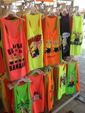 t-shirt,minions,fluo,shirt