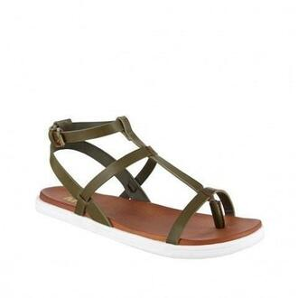 shoes mia shoes olive green sandals bikiniluxe