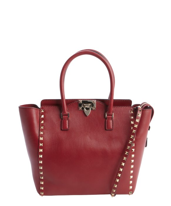 Valentino scarlet leather