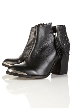 Psychic studded black ankle boots customer reviews