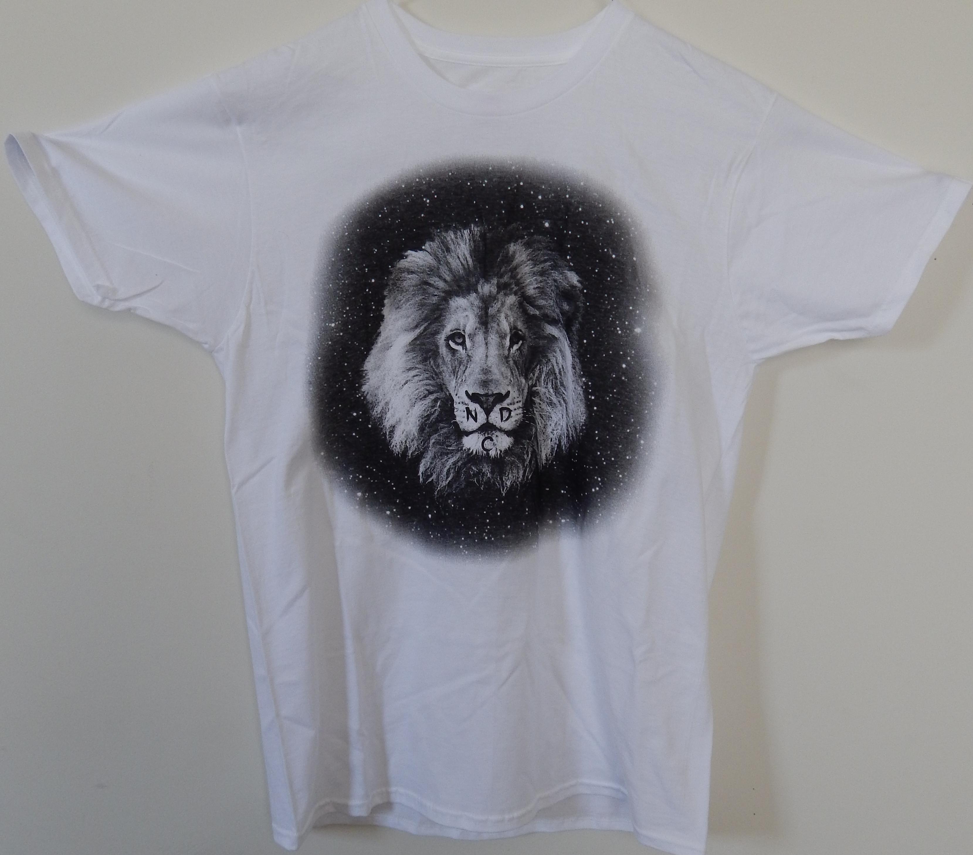 White - OG Lion / New Domain Clothing