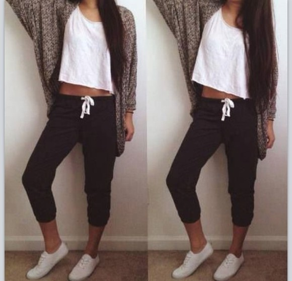pants casual sweats jacket sweat pants knitted cardigan white cardigan sweatpants