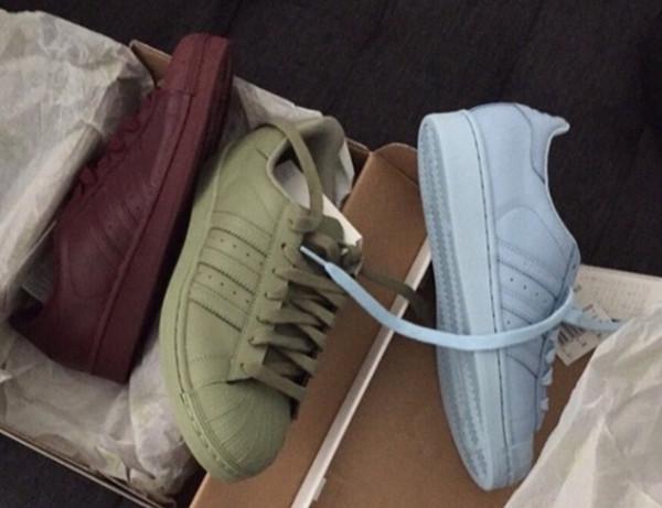 Adidas Superstar Olive Green Pharrell