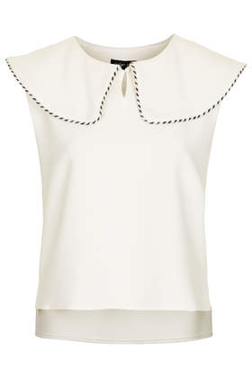 **Sailor Collar Blouse by Sister Jane - New In This Week  - New In  - Topshop