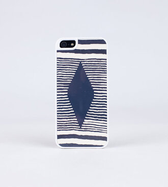 phone cover navy stripped sailor hipster geometric