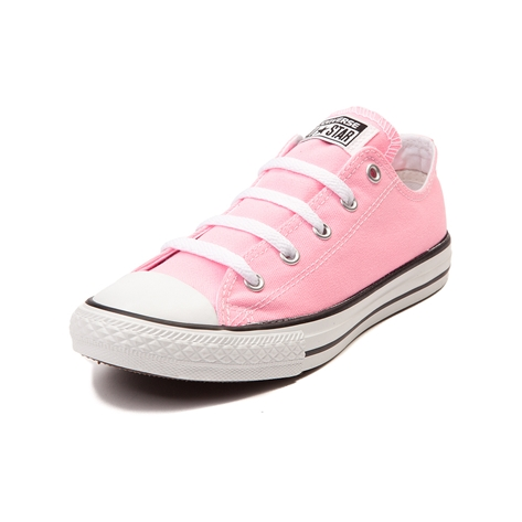 Youth converse all star lo cotton candy sneaker, light pink, at journeys shoes