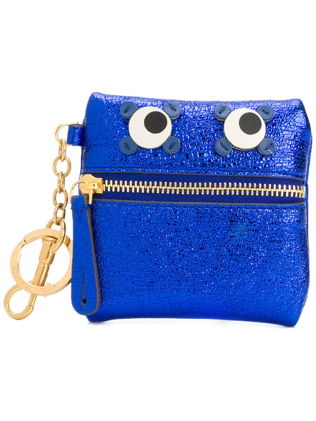 Anya Hindmarch eyes women purse blue bag