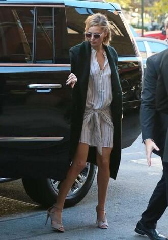 dress jennifer lawrence shirt dress shoes