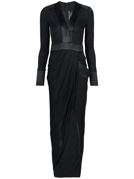 Thomas Wylde dress long dress long women spandex black