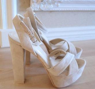 shoes summer beige shoes high heels fashion beige brown jells heels party