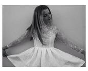 dress,whie dress,short,short dress,style