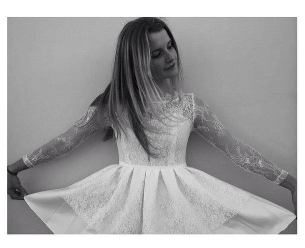 dress whie dress short short dress style