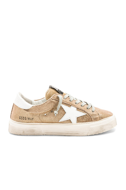 Golden goose metallic gold shoes