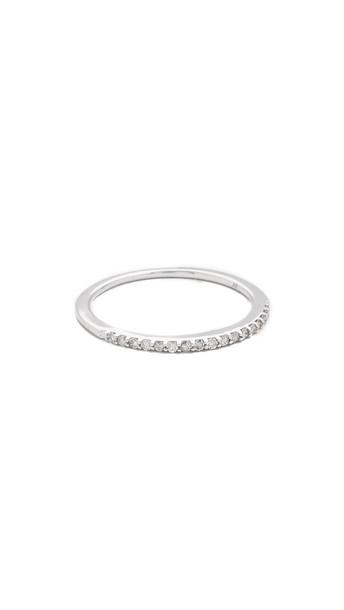 Adina Reyter Pave Band Ring - Silver