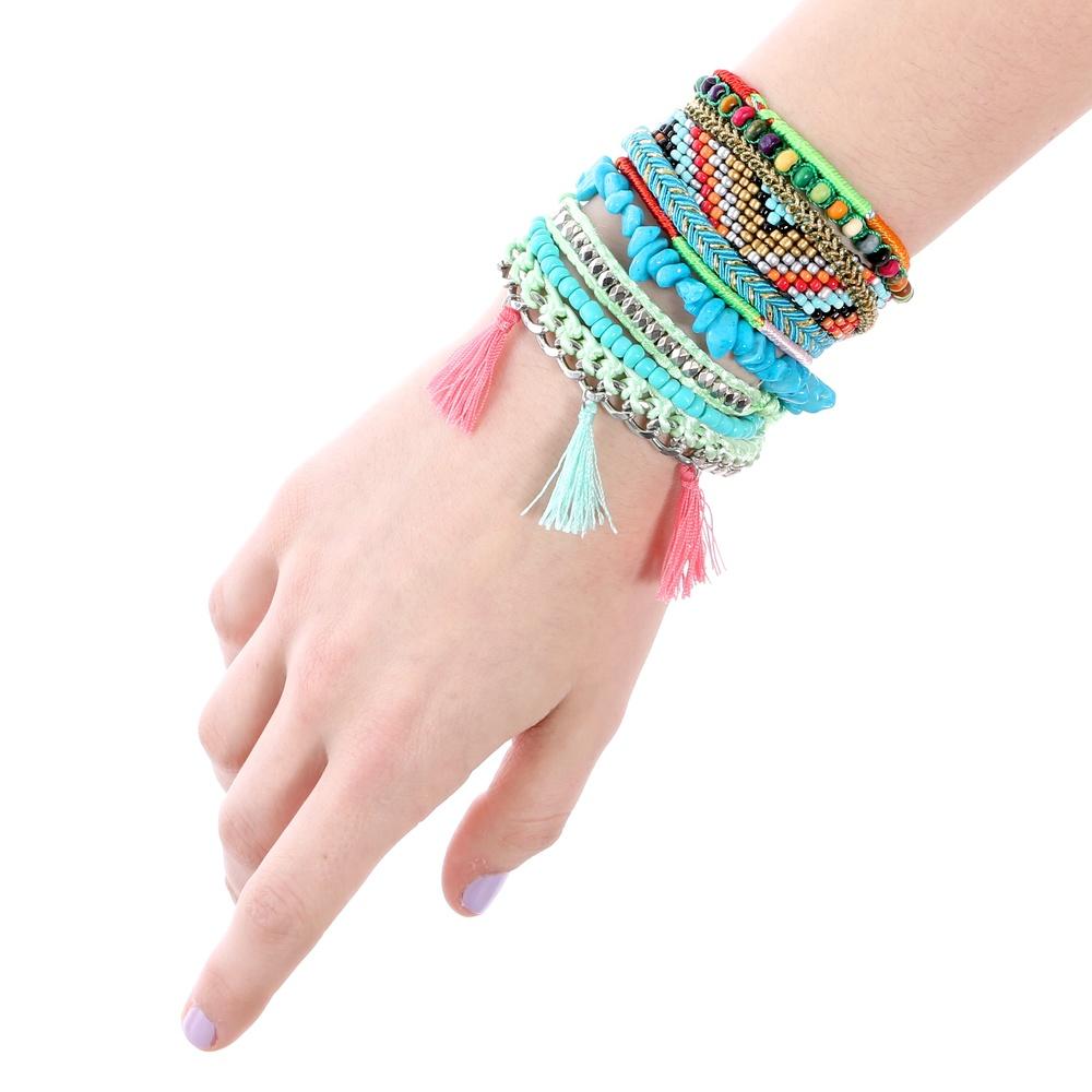 Brazilian festival bracelet, fiesta