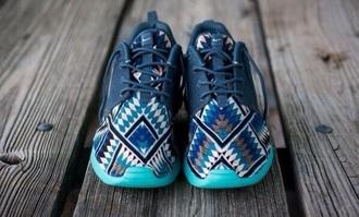 shoes nike roshe run tribal pattern aztec nike aztec roshe run