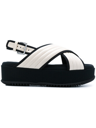 women quilted sandals leather nude satin shoes