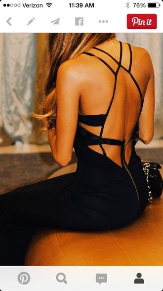 dress black dress open back dresses black dresses prom dress