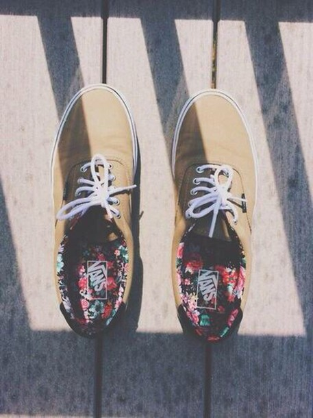 shoes vans printed vans