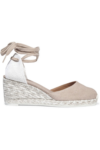espadrilles beige shoes