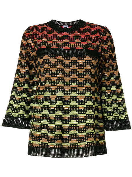 M Missoni jumper women cotton wool sweater
