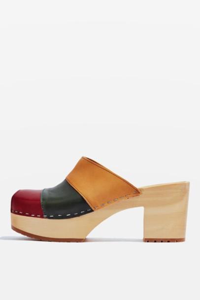 Topshop hippie mules shoes