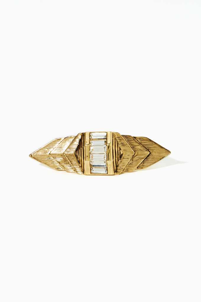 Erickson Beamon Rocks Palace Double Finger Ring | Shop Sale at Nasty Gal