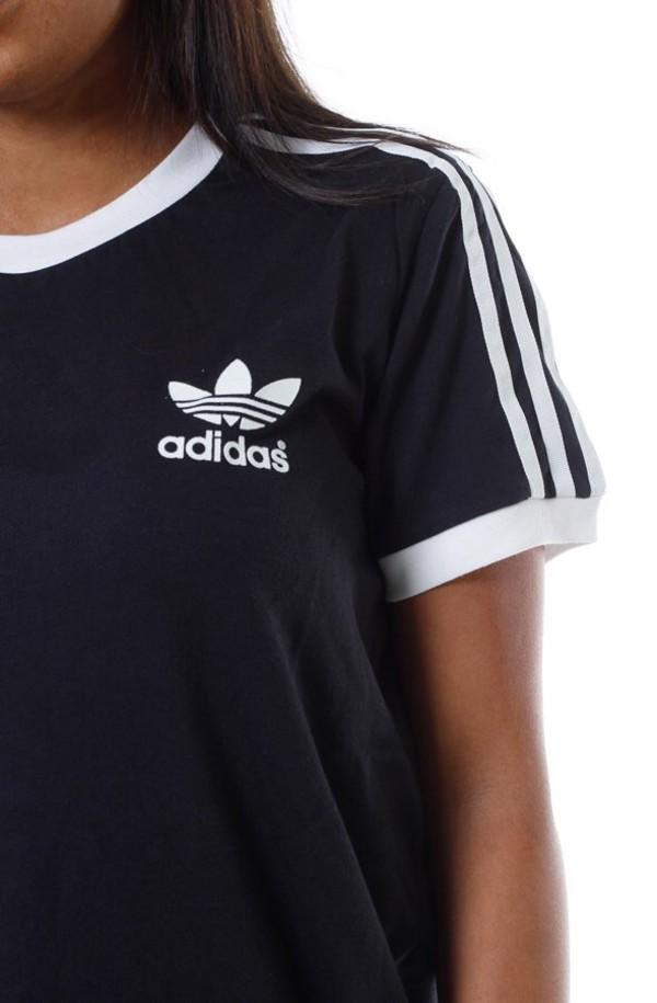 shirt woman's adidas shirt black adidas shirt adidas adidas originals adidas shirt black t-shirt