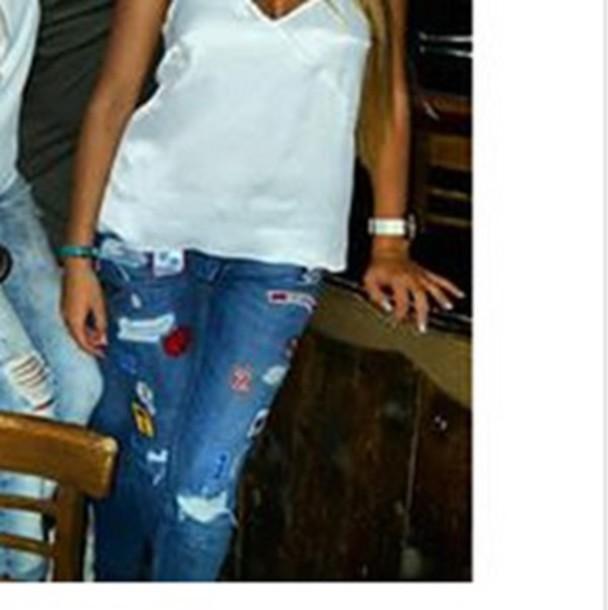 jeans slimfit bdebetcher patch