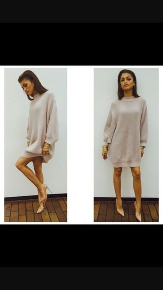 sweater zendaya oversized sweater